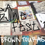 LA ZINE FEST ZINE (meta) by browntourage :P