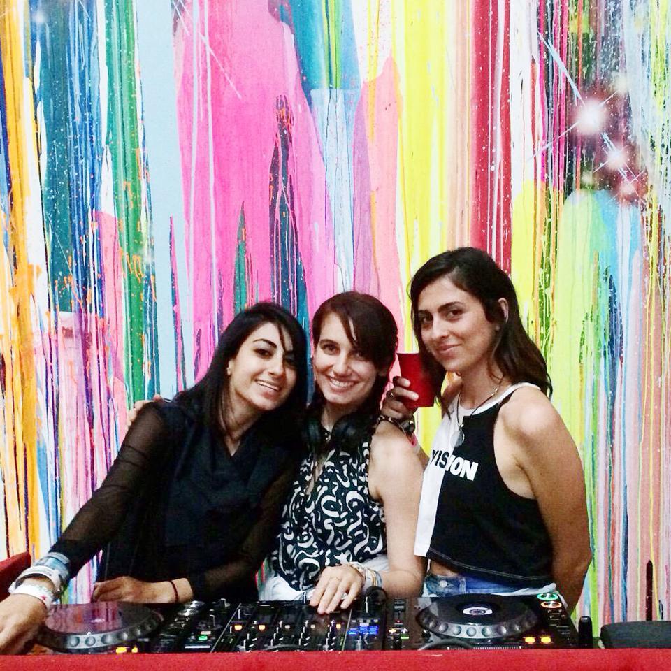 B2B with Nina Las Vegas and Anna Lunoe, Miami 2015